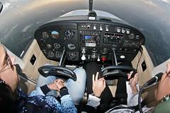 Going home... (Joo Alcntara) Tags: flying cockpit 1017 c172 fisheeye tikina