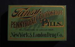 IMG_5742 (tintinitus2) Tags: tins oldtin timchapman female root cotton pilltin timothychapman medicaltin pennyroyal tansy pills antiquemedicaltin antiquepilltin newyorkandlondondrugcompany