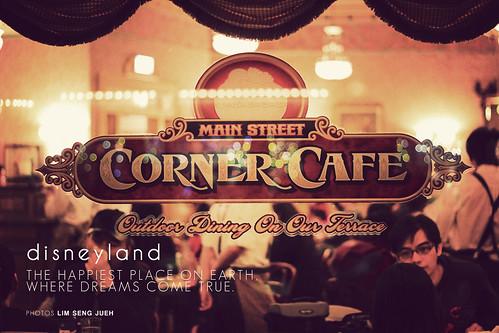 Corner Cafe - HK disneyland