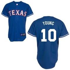 Texas Rangers #10 Michael Young Blue Jersey (Terasa2008) Tags: jersey texasrangers  cheapjerseyswholesale cheapmlbjerseys mlbjerseysfromchina mlbjerseysforsale cheaptexasrangersjerseys