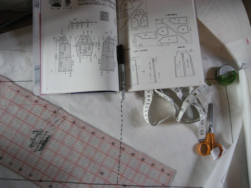 Deciphering a Japanese sewing pattern