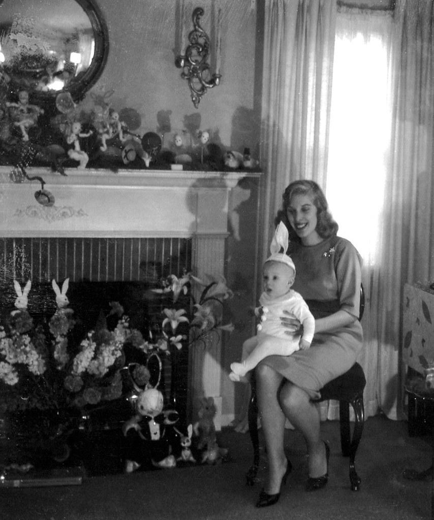 Easter at Grandma's 1963