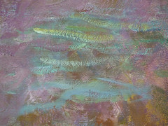 "Claude Monet, ""Les Nymphéas,"" Soleil couchant with detail of lily pad"