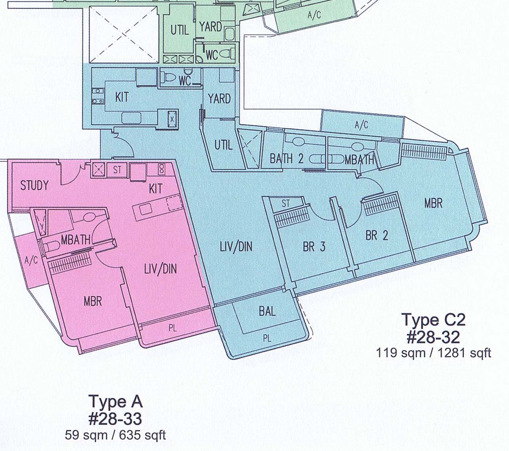 Floor Plan (Type C2)