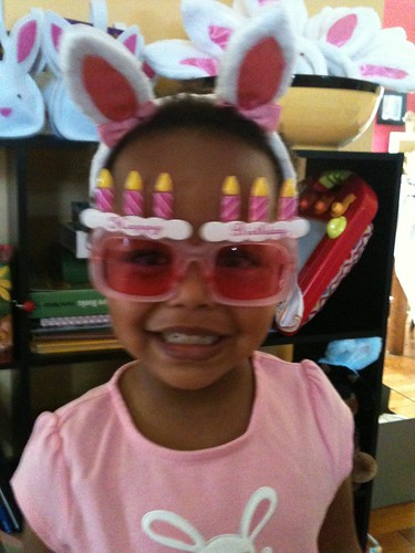 our little birthday rabbit
