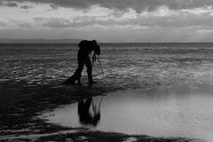 Preparation (Chris Haigh) Tags: uk reflection beach photographer lowtide gormley crosby merseyside 2011 anotherplace