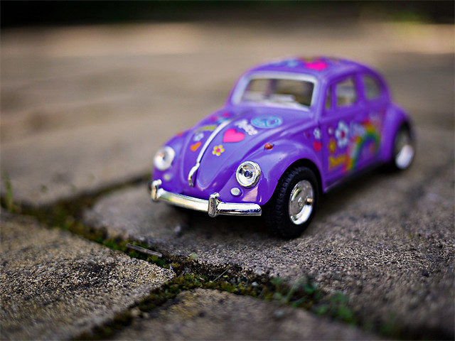 punch buggy purple