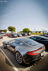 Aston-Martin One-77 (calians.sevan) Tags: auto red white black france cars car club speed dark french rouge paul photography grey james photo nice nikon automobile nissan photoshoot martin wheels s automotive ferrari racing exotic elite bond db4 gt nikkor rims blanche circuit rs blanc supercar v8 aston spotting astonmartin v10 007 ricard volante vantage stradale v6 dbs roadster gtr v12 vehicule db9 zagato db5 nissa db6 httt bez rapide virage db7 castellet carspotting sevan jmb d80 one77 calians vanguish