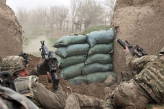 Operation Red Sand destroys insurgent compounds in Bala Murghab [Image 2 of 3] (DVIDSHUB) Tags: afghanistan soldier army military redsand af sandbags herat gunfire afghannationalarmy balamurghab baghdis