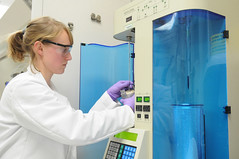 Ricercatore al lavoro - Image CC of Argonne National Laboratory