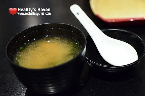 miso soup omakase