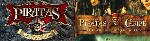 Piratas y Piratas del Caribe