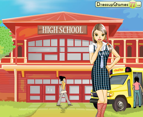 Back To School Dress Up