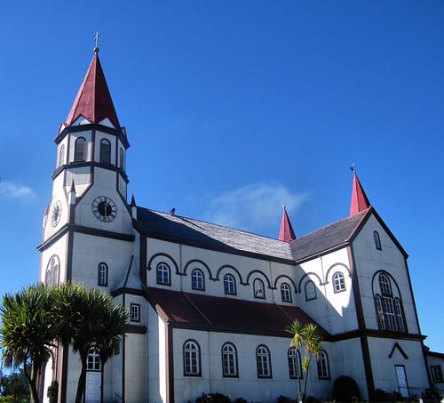 Parroquia Sagrado Corazón de Jesús, Puerto Varas, Chile by katiemetz, on Flickr