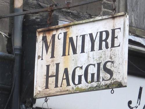 Rothsay  - Haggis Sign