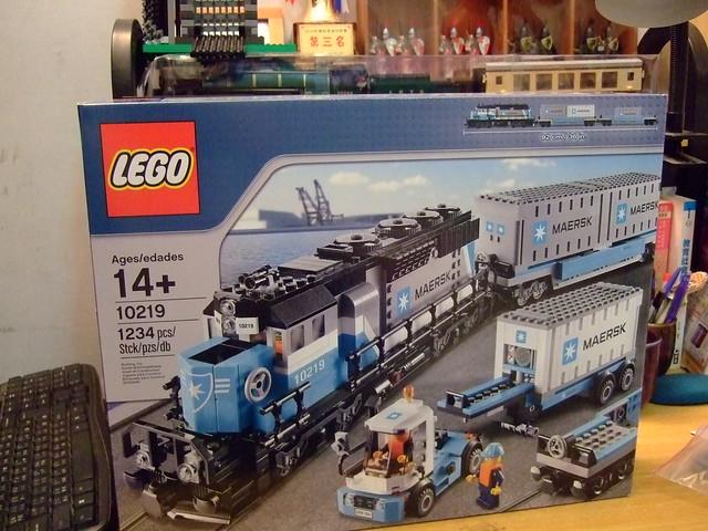 2011 火車系列 10219 Mersk Train  [貧民版] 4/17 完成