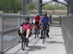 Jefferson City bike/ped river bridge--one of the many facilities across Missouri funded by Transportation Enhancements