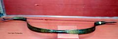 A Steel Bow beautifully decorated with demascene work (Tahir Iqbal (Over 44,45,000 Visits, Thank You)) Tags: pakistan 1984 sikh gurdwara punjab kirtan gurudwara sikhism singh khalsa sardar gurus sangat sikhi nankanasahib bhagatsingh sikhhistory partition1984