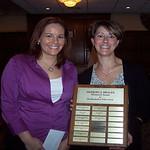 2007 recipient, Christine Ockenden -