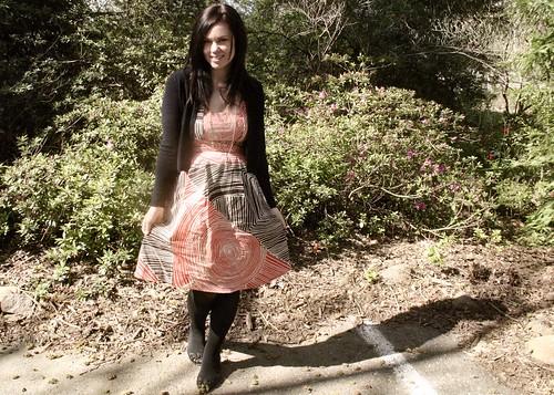 what i wore- anthro dress