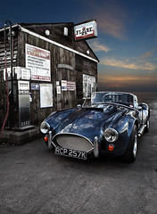 Shelby AC Cobra (Caza_No_7) Tags: classic sports station wow warrington automobile cobra dusk fast shelby motor petrol automobiles c