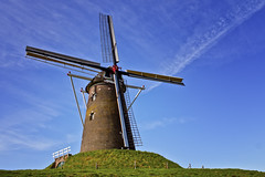 Windmill Bredevoort (* Fred T *) Tags: holland mill netherlands windmill dutch wind nederland fred molen achterhoek gristmill windmolen gelderland bredevoort korenmolen fredt madfred