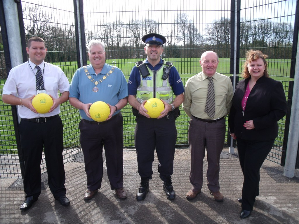 ORGANISATIONS TEAM UP TO PROVIDE KICK WALL
