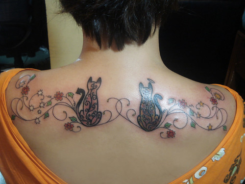 oriental tattoo pieces