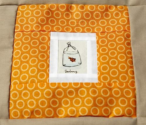 Goldfish Squares Quilt