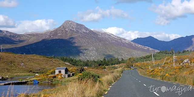 Roteiro de Carro Irlanda - Clifden a Galway