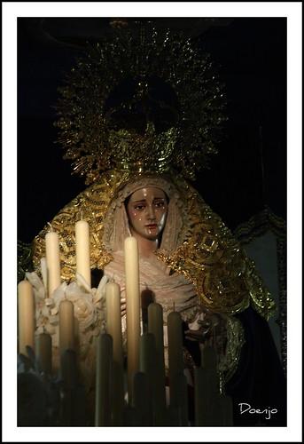 Nuestra Señora del Carmen en sus Misterios Dolorosos