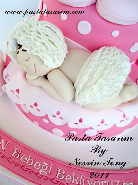 BABY SHOWER CAKE - BABY DERIN
