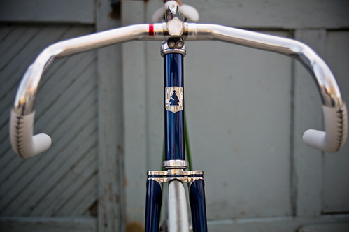front view with custom stem, which was chrome plated