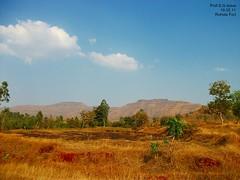 Rohida fort (Prof.Suresh G. Isave) Tags: summer sahyadri bhor indiantrees varadhaghat mahadroad