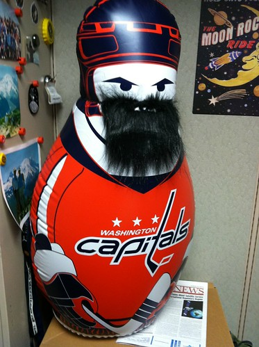 How's this for a playoff beard? #Caps