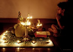 Vishu Kani........ A very Happy Vishu to all......... (aroon_kalandy) Tags: india lamp festival lights pray praying kerala krishna vishu customs harvestfestival calicut vishukani vishugreetings aroonkalandy