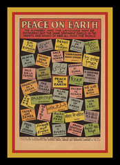 Peace On Earth, 1967 (Cosmo Lutz) Tags: vintage ad comicbook 1967 publicservicemessage