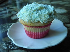 Southern (Manhattan) Coconut Cupcakes