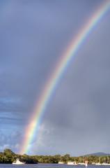 Noosa River Rainbow (BJRainbow) Tags: color river rainbow colours australia hero superhero winner queensland noosa noosariver tewantin 15challengeswinner herowinner