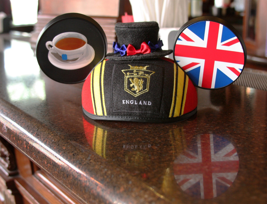 United Kingdom Ear Hat from Disney Parks