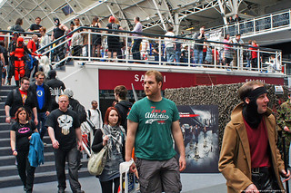 Kapow! Comic Con : Cosplayers on the move