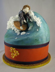 Tobie's surf cake (Dot Klerck....) Tags: southafrica cool waves capetown surfing dot wellington tobie eatcakeparty handmodelledsugarart