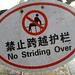 No Striding Over