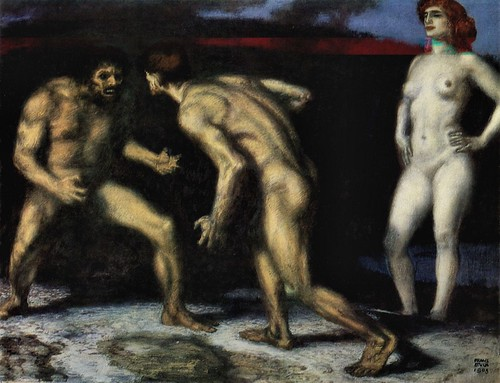 The struggle for women [1] by Franz von Stuck