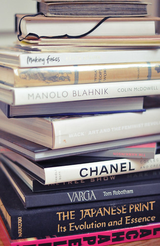 fashion  and makeup and art books