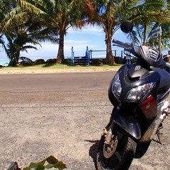 Rarotonga scooter