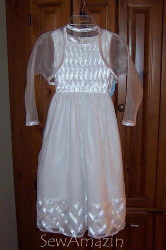 Shrug/First Communion Dress