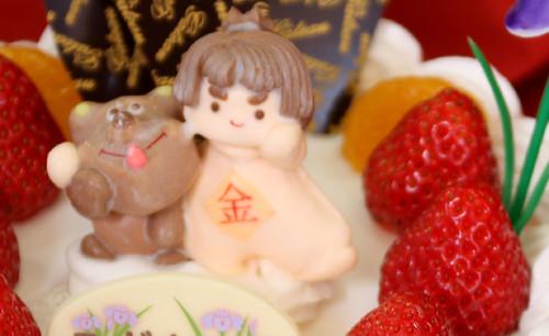 金太郎デコレーションケーキ