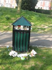 Overflowing bin #2