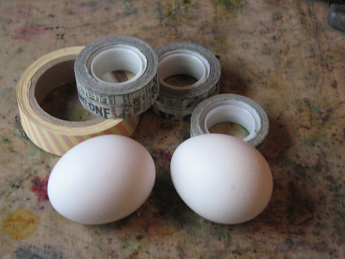 Tissue Tape Easter Eggs 001